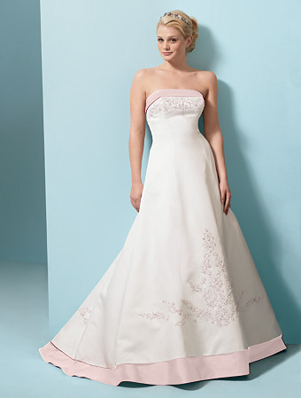 Alfred Angelo... Find the perfect Wedding Dress, Bridesmaid Dress, Prom Dress, :  pink bride wedding gown