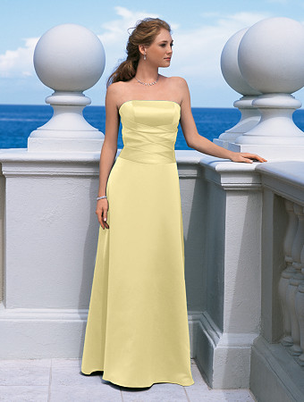 Sunshine Yellow Dresses by Alfred Angelo