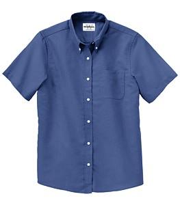 WearGuard® Ladies Short-Sleeve Ultimate Oxford Work Shirt