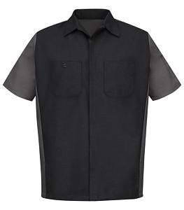 Red Kap® Long Sleeve Crew Shirt
