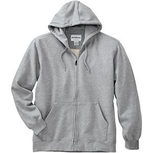 WearGuard® WearTuff™ Low-Shrink Hooded Zip-Front Sweatshirt