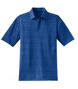 Nike Golf Elite Series Dri-FIT Heather Fine Line Bonded Polo