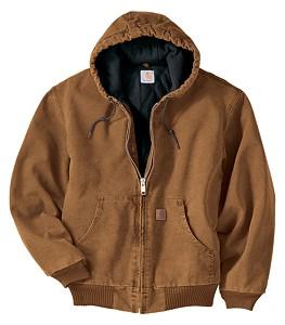 Carhartt® Washed Hooded Jacket
