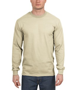 Hanes® Beefy-T® 100% Cotton Long Sleeve T-Shirt