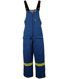 Big Bill® Flame Resistant Nomex® IIIA® Insulated Enhanced Visiblity Winter Bib Overall - 6 oz