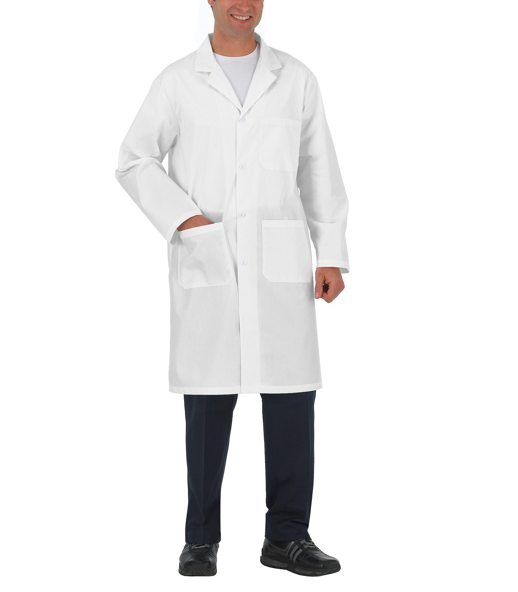 Amp Ca Premium Uniform Button Closure Lab Coat