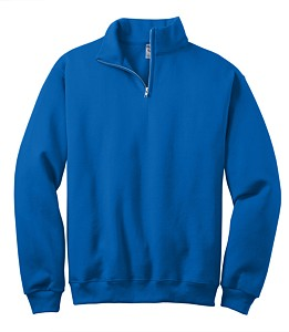 JERZEES® 1/4-Zip Cadet Collar Sweatshirt