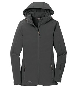 Eddie Bauer® Soft Shell Ladies Hooded Parka