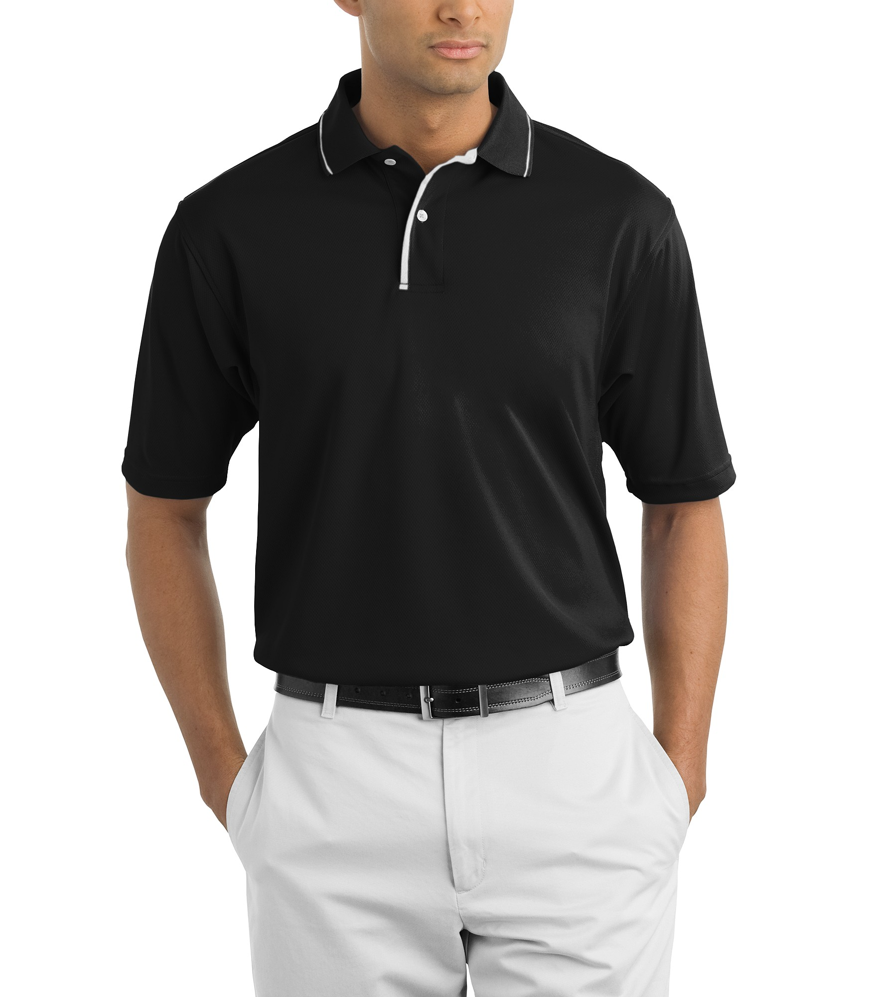 a790cd80d4 ... Sport-Tek® Dri-Mesh® Polo with Tipped Collar and Piping. Zoom. Loading  zoom