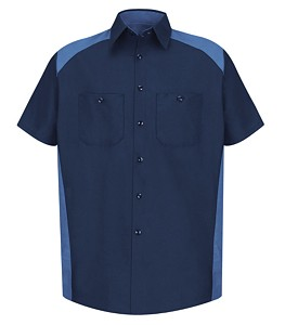 Red Kap® Short Sleeve Motorsports Shirt