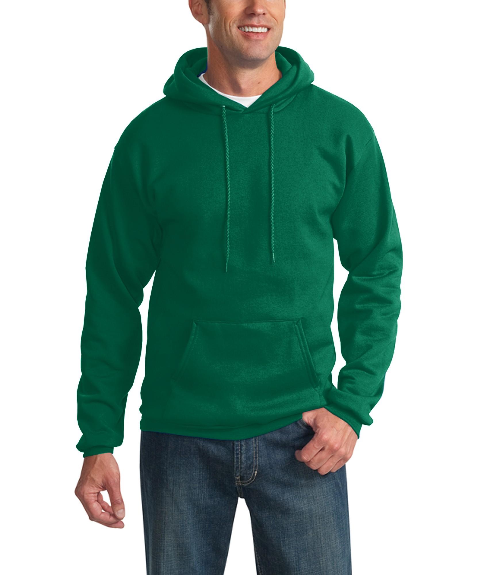 PC78H-Light Blue Port /& Company-Classic Pullover Hooded Sweatshirt