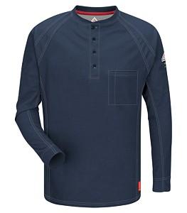 iQ Series® Long Sleeve Henley