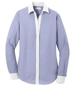 db1ba661 AMP_US_employee   Red House® Ladies Non-Iron Diamond Dobby Shirt
