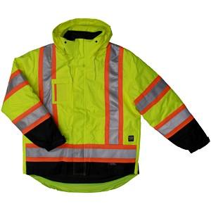 Manteau doublé 5-en-1 à haute visibilité Tough Duck™
