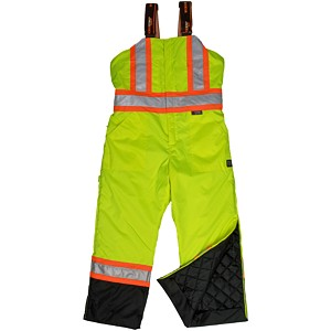 Tough Duck™ High Visibility Lined Insulated Bib Overall