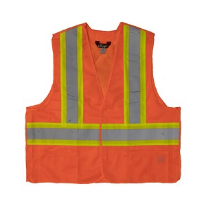 Work King® 5-Point Tearaway Safety Vest