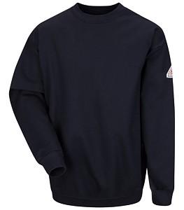 Bulwark® Pullover Crewneck Sweatshirt - Cotton/Spandex Blend