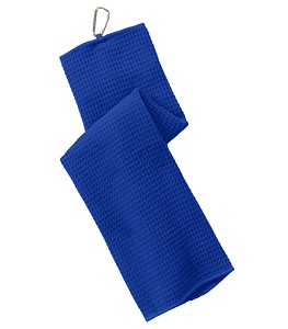 Port Authority® Waffle Microfiber Golf Towel