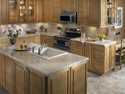 Visualize your kitchen with different patterns of Wilsonart HD