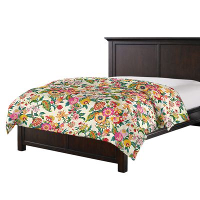 Candy-Colored Chinoiserie Duvet Cover