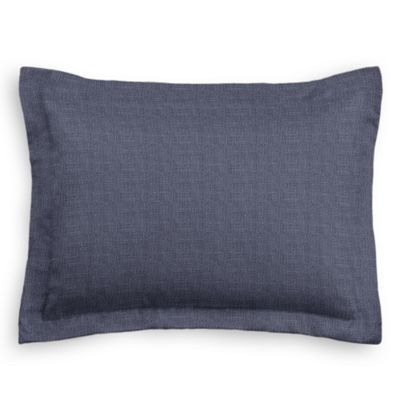 Navy Blue Lightweight Linen Sham