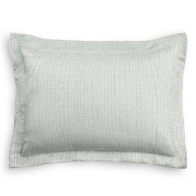 Pale Gray Slubby Linen Sham