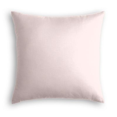 Pale Pink Linen Euro Sham