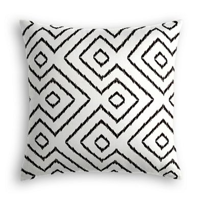 Black & White Diamond Euro Sham
