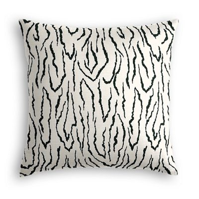Black & White Animal Print Euro Sham