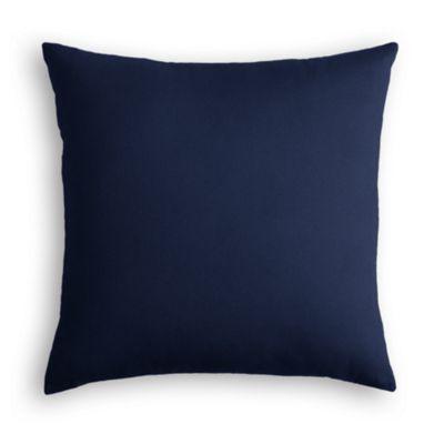 Navy Blue Velvet Euro Sham