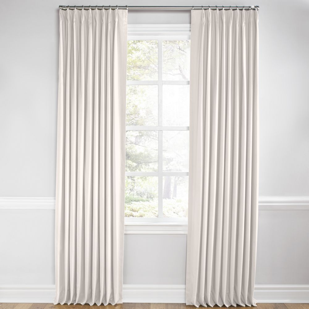 Bold Stripe Curtains Coastal Stripe Fabric Beige Gray Rlf