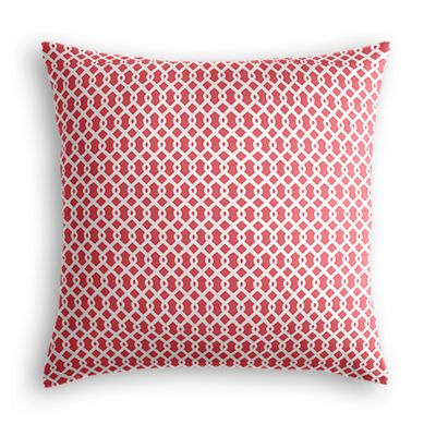 Pink Mini Trellis Pillow
