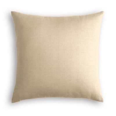 Beige Lightweight Linen Pillow