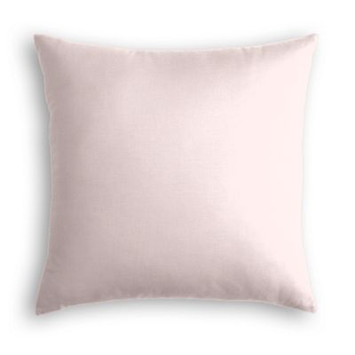 Pale Pink Linen Pillow