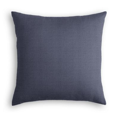 Navy Blue Lightweight Linen Pillow