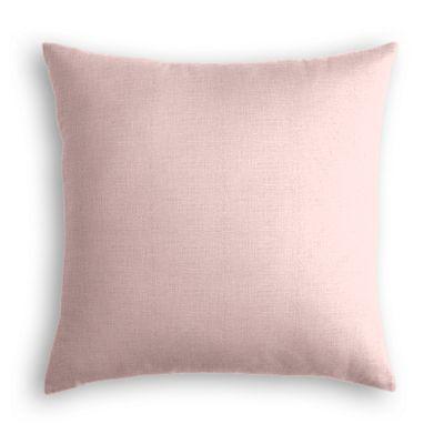 Pastel Pink Linen Pillow