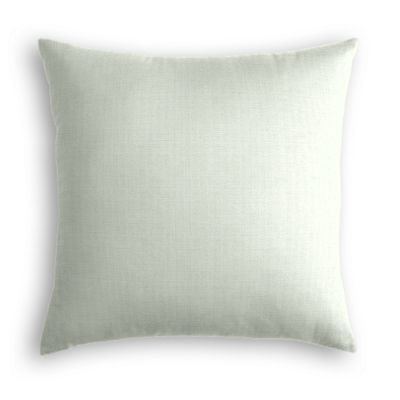 Pale Seafoam Slubby Linen Pillow