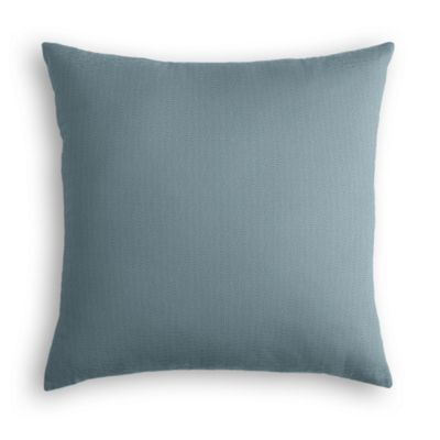 Slate Blue Slubby Linen Pillow