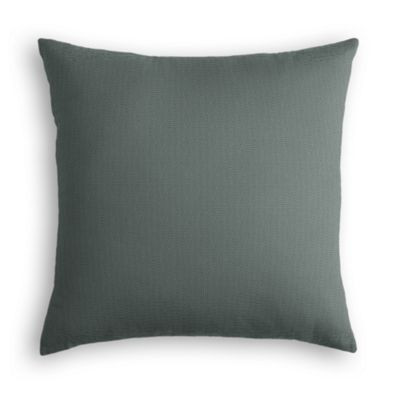 Charcoal Slubby Linen Pillow