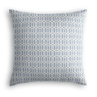 Sky Blue Lattice Pillow