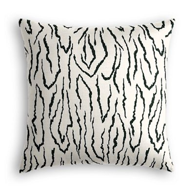 Black & White Animal Print Pillow