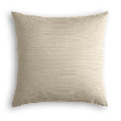 Tan Sunbrella® Canvas Pillow