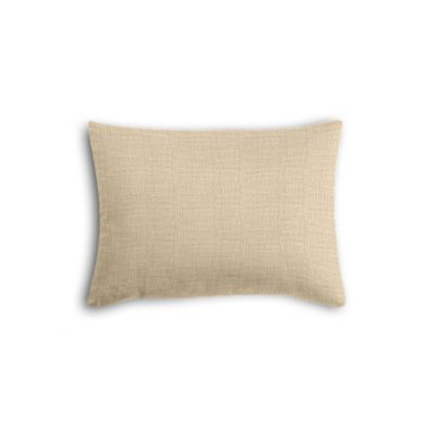 Beige Lightweight Linen Boudoir Pillow