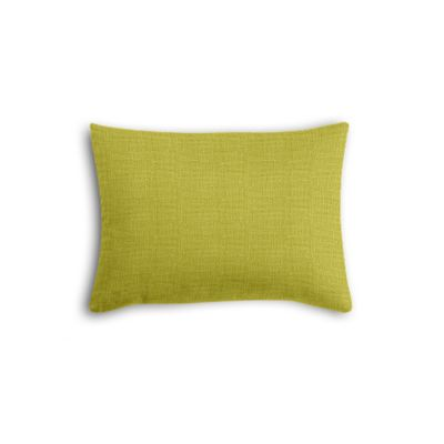 Chartreuse Green Linen Boudoir Pillow