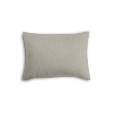 Beige Slubby Linen Boudoir Pillow