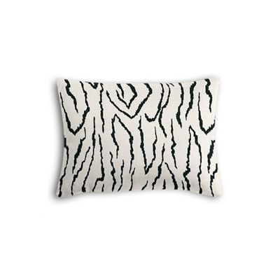 Black & White Animal Print Boudoir Pillow