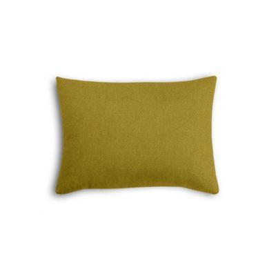 Chartreuse Green Velvet Boudoir Pillow