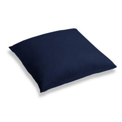 Navy Blue Velvet Floor Pillow