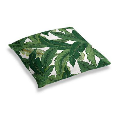 Green Banana Leaf Floor Pillow
