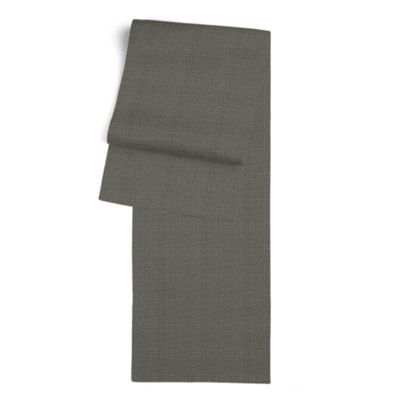 Charcoal Gray Linen Table Runner